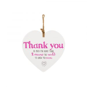 From The Heart Plaque Thank you