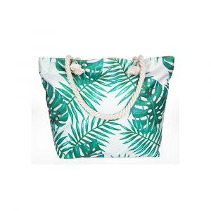 Glittered Foliage Tote Bag