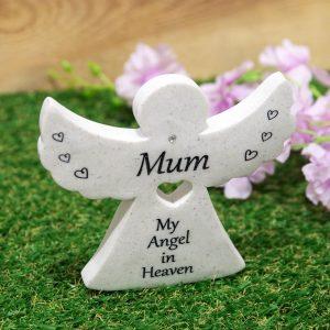Graveside Angel Mum