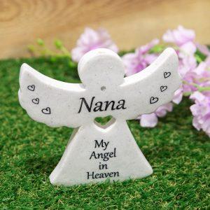 Graveside Angel Nana