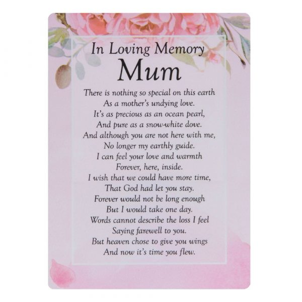 In Loving Memory Mum Mam