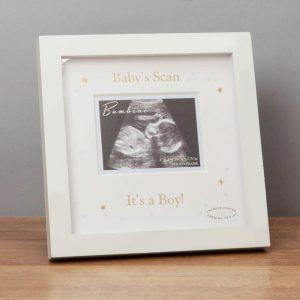 Baby Boy Scan Frame