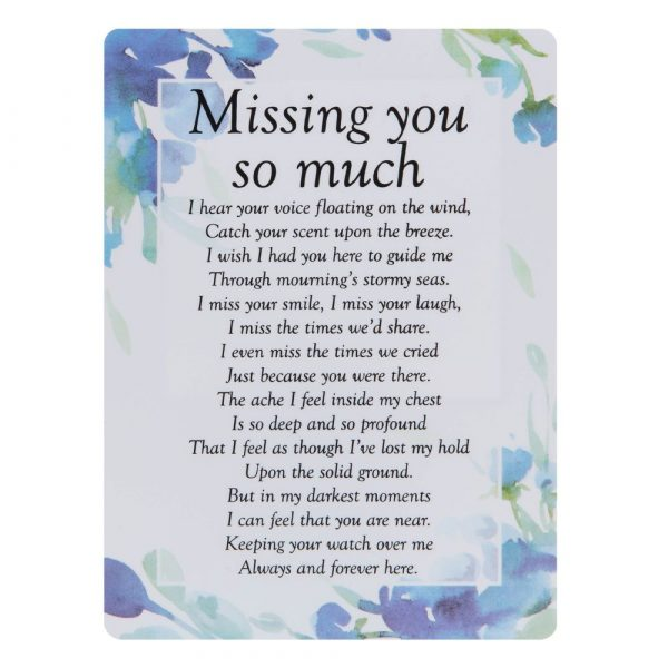 Missing You So Much Memorial Remembrance