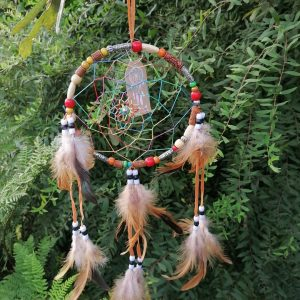 Multi Coloured Dream Catcher