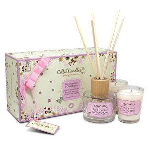 Celtic Candles Classic Gift Box Pink Grapefruit