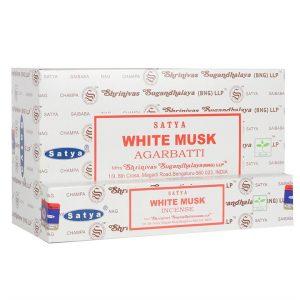 Satya White Musk Incense