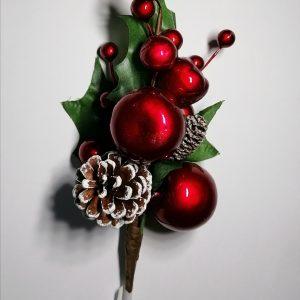 Berries Christmas Decorative Pick