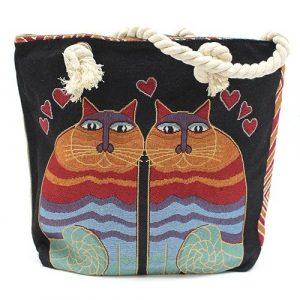 Cat Rope Handle Bag
