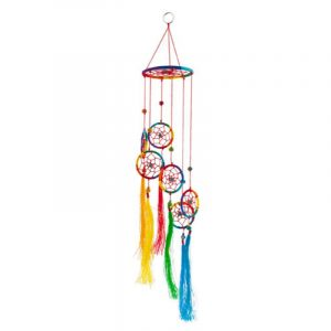 Dream Catcher Rainbow with Tassels