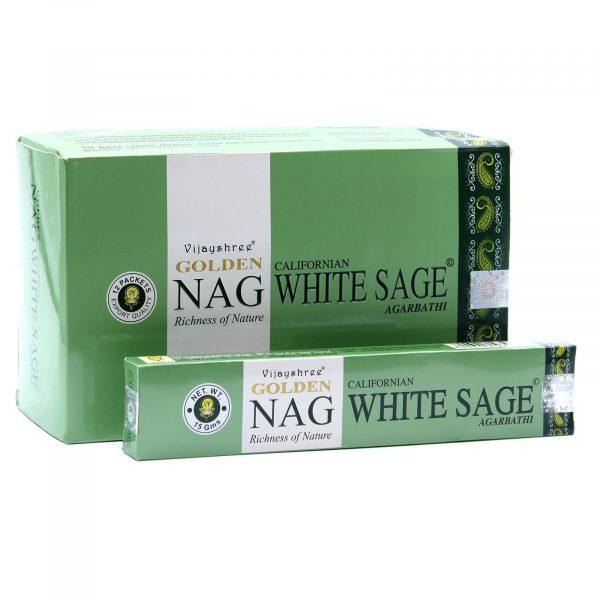 Golden Nag Californian White Sage Incense