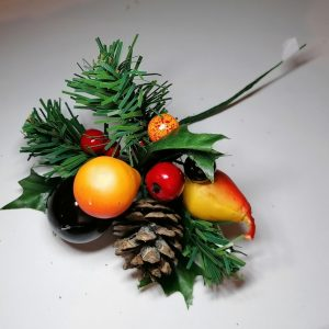 Fruits decorative Christmas Pick