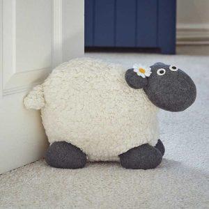 Woolly Sheep Door Stop