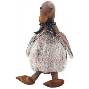 Duck Faux Leather Doorstop