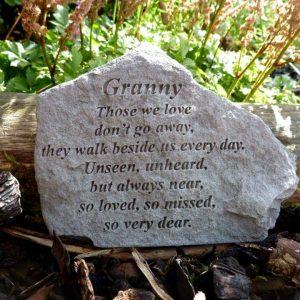 Granny Memorial Stone