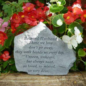 Beloved Husband Memorial Stone