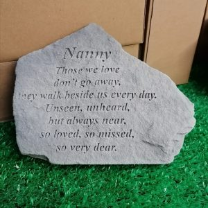 Nanny Those We Love Memorial Stone