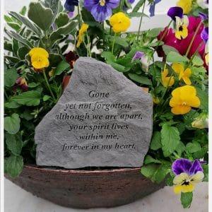 Gone Yet Not Forgotten ... Memorial Stone