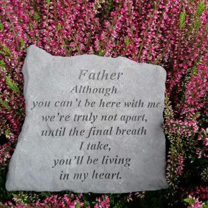 Father Memorial Stone