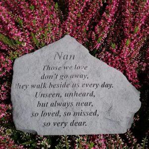 Nan Those We Love Memorial Stone