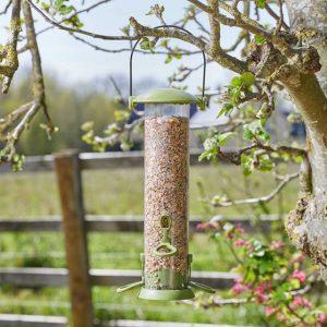 30cm Twist Top Seed Bird Feeder